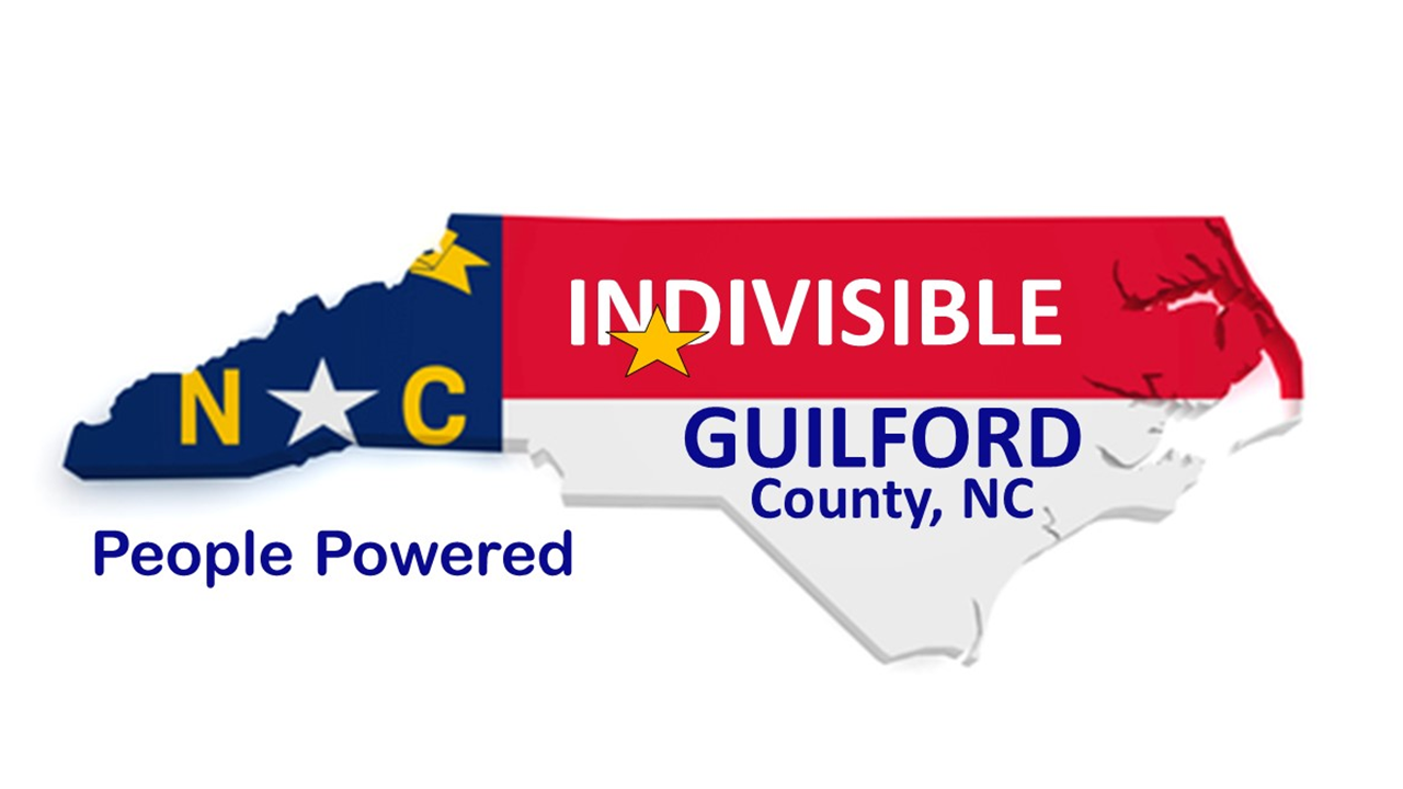 Indvisible Guilford County Logo
